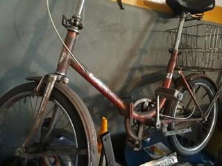 Bicicleta Plegable Rodado 20 Funcionando