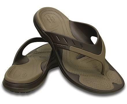Chinelo Modi Sport Flip Crocs Original C Nf Dia Dos Pais