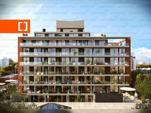 Venta De Apartamento Obra Construcción Monoambiente En Parque Rodó, Tempo Rambla Unidad 112