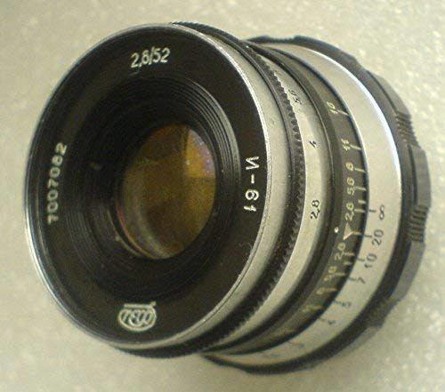 Industar 61 2,8/52 Mm Zebra Leica Ussr M39