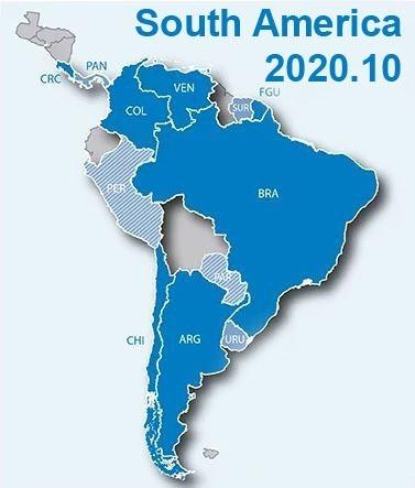 Garmin City Navigator South America Nt 2020.10