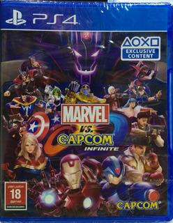 Marvel Vs. Capcom: Infinite (import) - Ps4