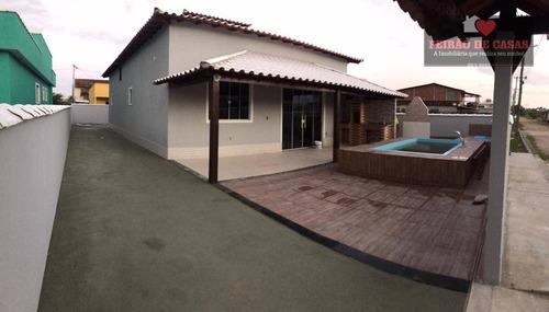 Casa Com 2 Dormitórios À Venda, 154 M² Por R$ 270.000,00 - Unamar - Cabo Frio/rj - Ca0271