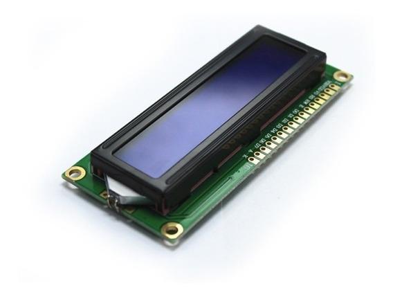 Display Lcd 16x2 Backlight Azul 1602 Hd44780 Arduino Pic