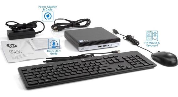 Hp 400 G3 Desktop, I5 7 Geração 4gb Ddr4 500gb Windows 10