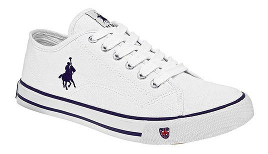 Polo Club Tenis Casual Blanco Textil Dama Btk52098