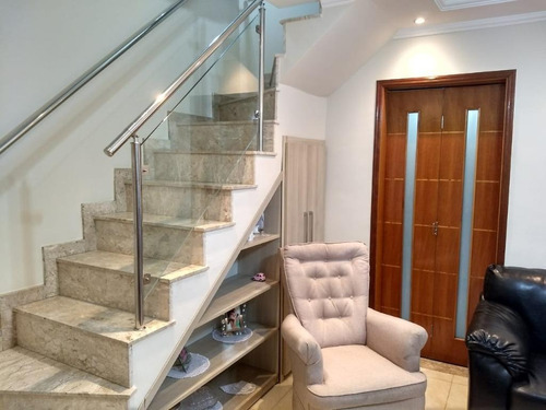 Imagem 1 de 30 de Sobrado Com 2 Suites Proximo Ao Metro Guillhermina Esperança  Por R$ 330.000 - Vila Guilhermina - São Paulo/sp - So2540