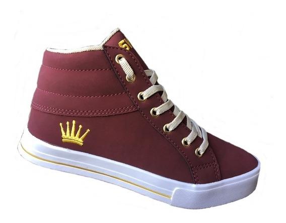 Sapato De Criança Infantil Coroinha Cod6