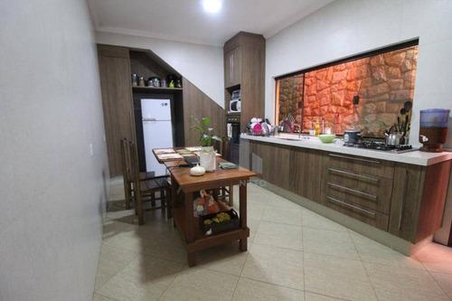 Imagem 1 de 17 de Sobrado Com 3 Dormitórios À Venda, 300 M² Por R$ 700.000 - Jardim Pedroso - Mauá/sp - So0258