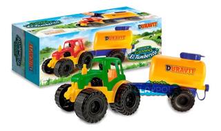Tractor Tambero Con Tanque De Plástico Duravit