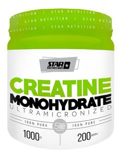 Creatina Star Nutrition 1 Kg Monohidrato Micronizada