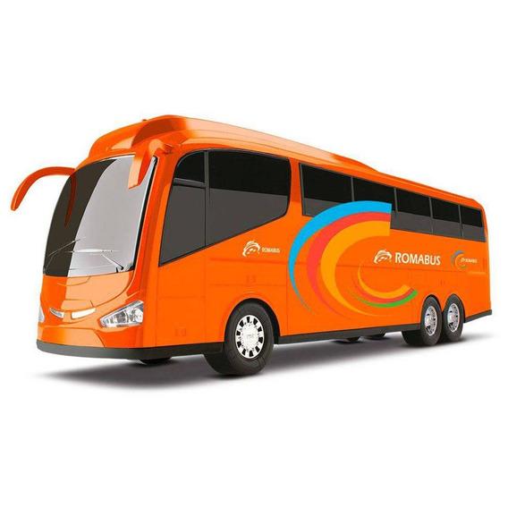 Ônibus Roma Bus Executive - 47,5- Laranja Roma Brinquedos