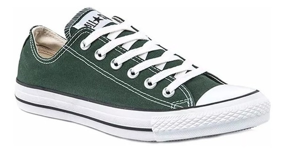 Zapatillas Mujer Converse All Star Ox Verde
