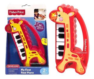 Mi Primer Piano Fisher Price Sonido Y Luz Original Scarlet