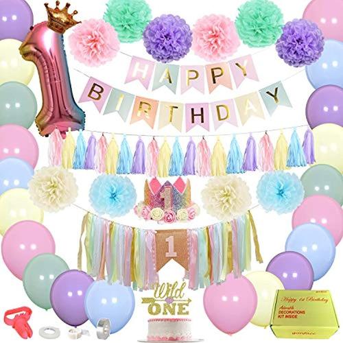 Decoraciones Suministros Para Fiesta De Cumpleaños