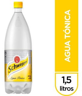 Agua Tónica Schweppes Pack 6 Botellas 1.5 Litros