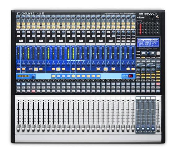 Mesa De Som Profissional Pre Sonus Studio Live 24.4.2