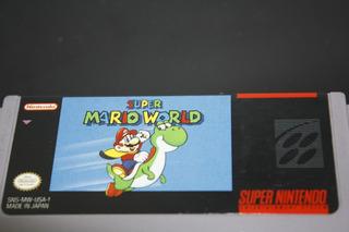 Juego Para Super Nintendo Super Mario World