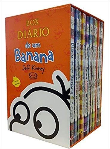 Box Diário De Um Banana -10 Volumes - Novo - Lacrado - 2017