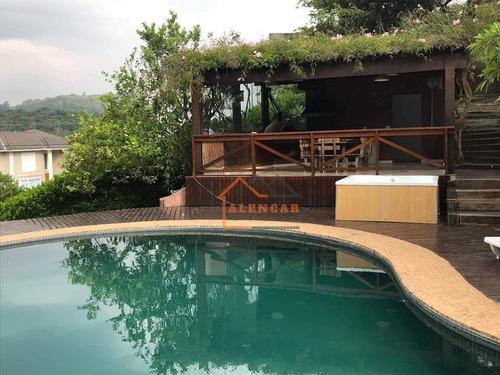 Casa De Alto Padrão Com 3 Dormitórios À Venda, 350 M² Por R$ 2.200.000 - Parque Petrópolis - Mairiporã/sp - Ca0034