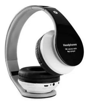Fone De Ouvido Bluetooth Aux P2 Sd Bateria Recarregável B-01