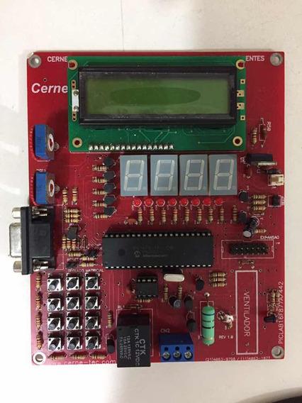 Placa Eletrônica De Aprendizagem Para Microcontroladores Pic