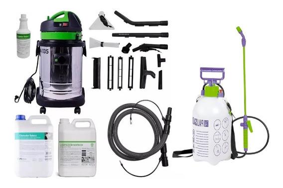Lavadora Extratora Aspirador 1400w A135 + Kit De Itens