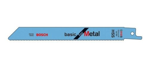 Imagen 1 de 6 de Hoja Sierra Sable Para Metales 150 X 16 X 0.8 Mm Bosch S918b