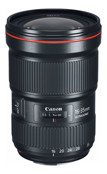 Lente Canon 16-35mm F2.8 L Iii Usm Lacrada Com Nf