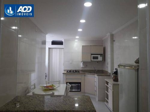 Apartamento Com 2 Dormitórios, Por R$ 500.000 - Boqueirão - Santos/sp - Ap0161
