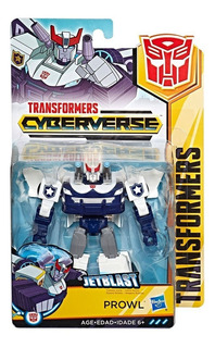 Transformers Cyberverse Prowl Jetblast Original.