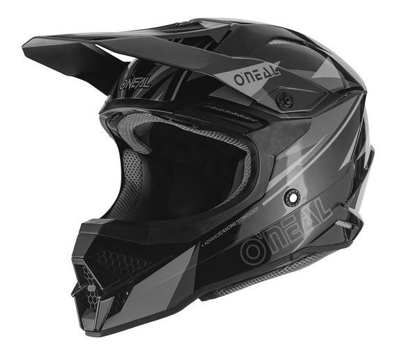 Capacete Motocross Oneal 3series Triz