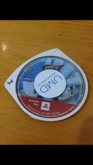 Jogo Psp Sonic Rivals Só O Umd Sega Sony R$70,99