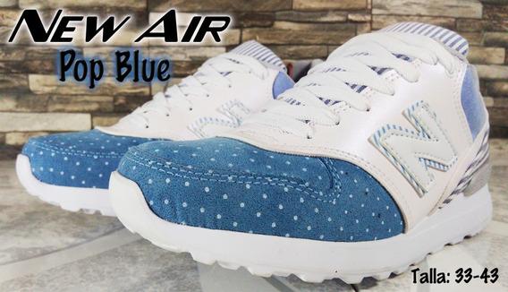 Tenis New Air Ref: Pop Blue