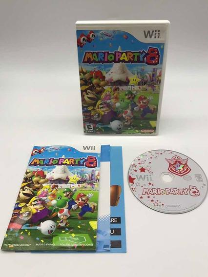Mario Party 8 Nintendo Wii Original Completo Americano