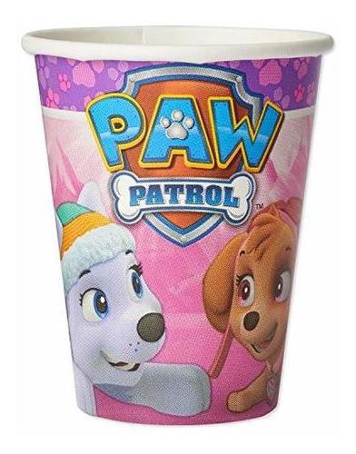 Vasos De Papel De American Greetings Paw Patrol Para Niños (