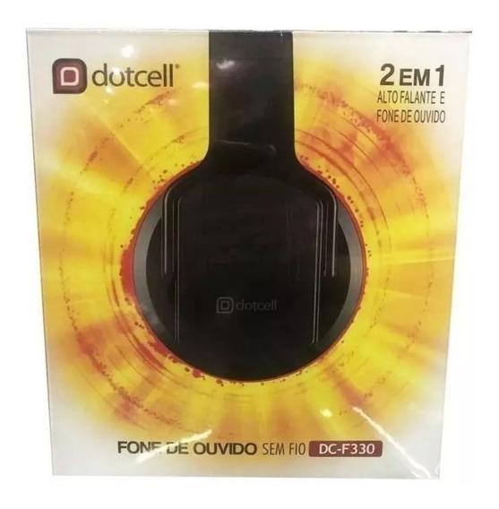 Fone De Ouvido E Caixa De Som 2 In 1 Bluetooth Dc-f330