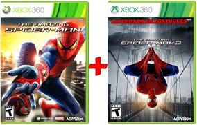 Spider Man The Amazing 1 + 2 Combo 2 Jogos Xbox 360