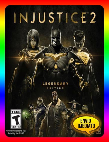 Injustice 2 Legendary Pc - 100% Original (envio Já)