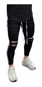 Jeans Rotos Tumblr Pantalones Hombre Pantalones Jeans Y Joggings De Hombre Negro En Mercado Libre Argentina
