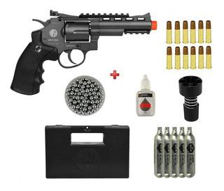 Revolver De Pressao Co2 Rossi M701 Full Metal 4pol