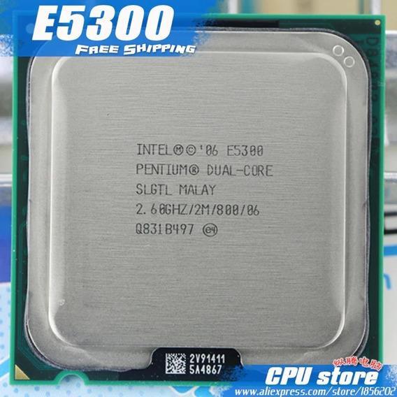 Processador Intel Duo 2 Core 2.6ghz/2m/800/6 E5300