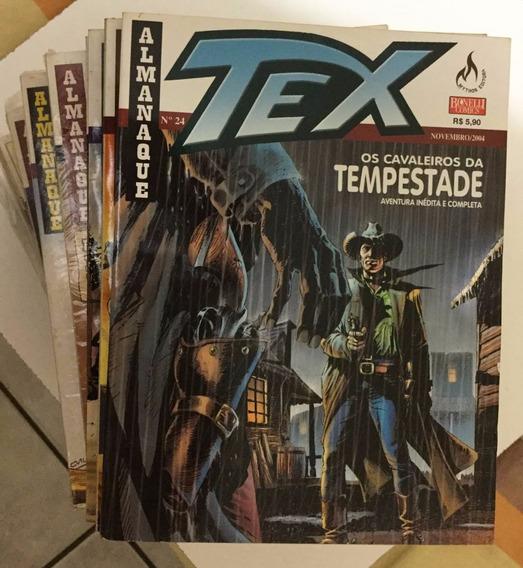 Almanaque Tex - Números Avulsos - Excelente Estado