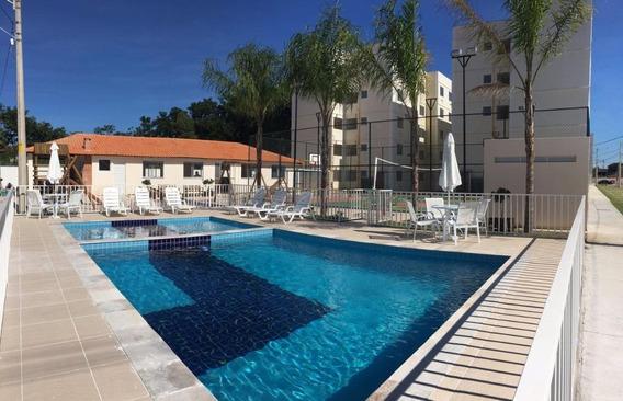 Apartamento Em Campo Grande, Rio De Janeiro/rj De 43m² 2 Quartos Para Locação R$ 900,00/mes - Ap299751