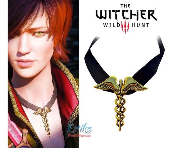 Colar Gargantilha Shani Cosplay Médica The Witcher 3