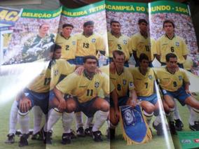 Revista Com Poster Seleção Brasileira Copa Do Mundo 1994