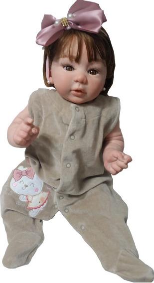 Bebê Reborn Kylin Corpo Inteiro Vinil Siliconado (promoção)