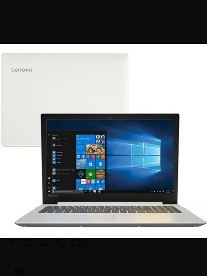 Notebook Lenovo Ideapad 330 15 Novo Lacrado Original.