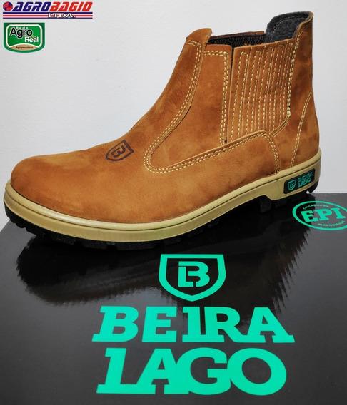 Botina Beira Lago - Couro Nobuck
