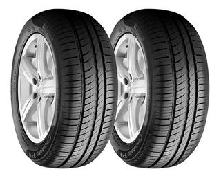 Paquete 2 Llantas 195/60 R14 Pirelli P1 Cinturato 86h Msi